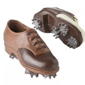 Chocolate Golf Shoe