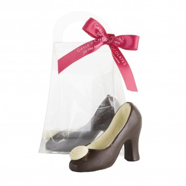 Small Dark Chocolate Shoe