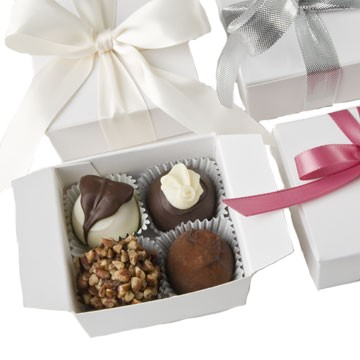 Four Piece Truffle Favor