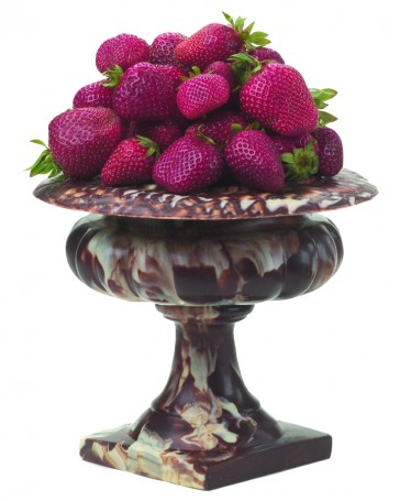 Chocolate Pedestal Bowl