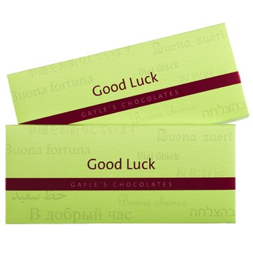 Good Luck Chocolate Bar