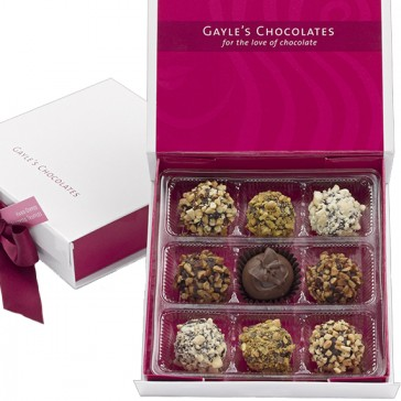 9-pc. Nut Truffle Assortment