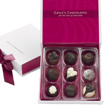 9 Piece Truffle Assortment