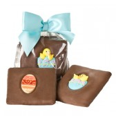 Easter Chocolate-covered Grahams