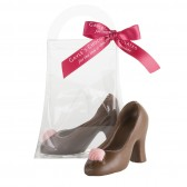 Small Milk Chocolate High Heel Shoe