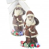 Solid Chocolate Santa