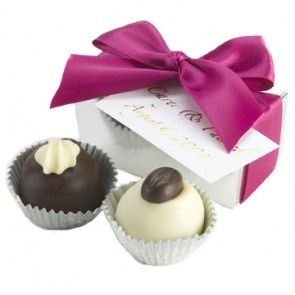 Two-piece Truffle Favor