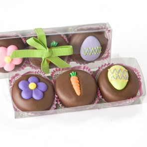 3-pc. Easter Chocolate-covered Oreos