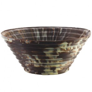 Chocolate Alessi Step Bowl