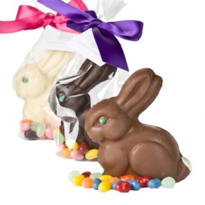 Cute Smooth Chocolate Bunny