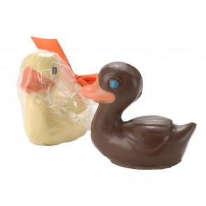 "Large Chocolate ""Rubber"" Ducky"