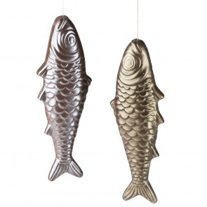 Chocolate Fish On A String