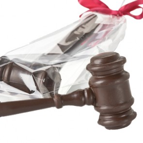 Chocolate Gavel