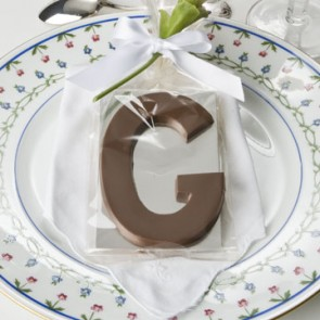 Chocolate Letters of the Alphabet