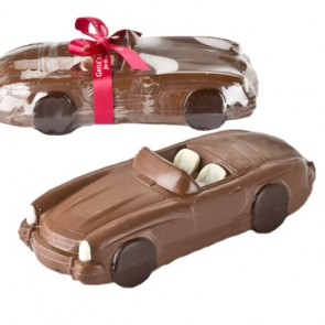 Chocolate Mercedes Convertible