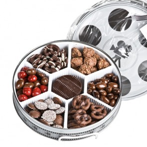 Movie Reel Tin with Chocolates