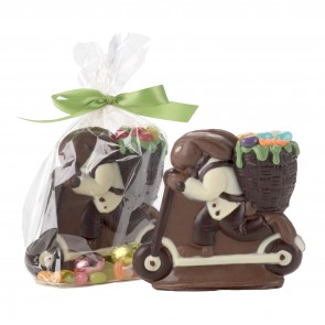 Chocolate Scooter Bunny