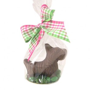 Chocolate Scottie Dog - Small