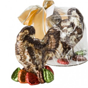 Medium Chocolate Turkey Centerpiece