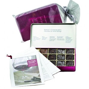 Chocolate and Wine Tasting Kit